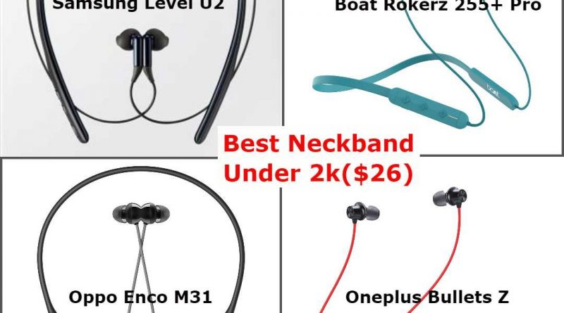 best bluetooth earphone under 2000